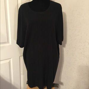 Maggie Barnes Black Short Sleeve Sweater Size 4X